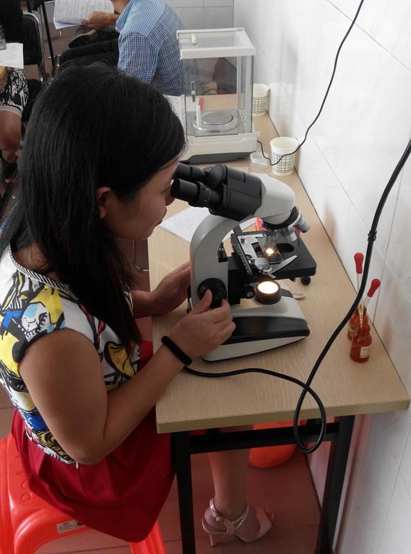 8月份广州食品化验员学习班掠影
