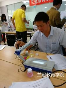 2018年3月上海食品检验员培训班培训学习